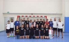 Hentbol Kadınlar Süper Ligi'nde ilk devre sona erdi.