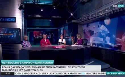 TRT Spor'un Canlı Yayın Konuğu Oldular