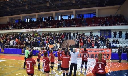 Kastamonu Belediyesi Gençlik ve Spor Kulübü Çeyrek Finalde