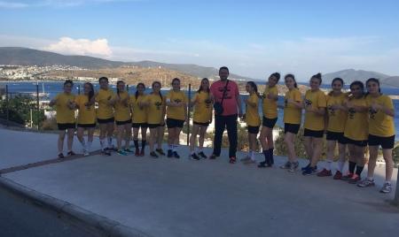 Kızlarımız Bodrumdaki Türkiye Hentbol Yıldız Kızlar Şampiyonasına Hızlı Başladı
