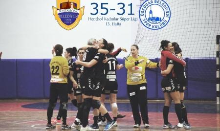 Kastamonu Belediye 35 – 31 Üsküdar Belediye