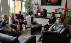 Oyuncularımız Rusça Dersine Konuk Olup Öğrencilerle Sohbet etti