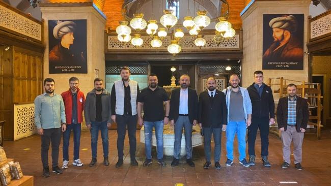 Kulüp Başkanımız Mustafa Köklü ve yönetim kurulumuz basınla bir araya geldi